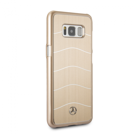 Samsung Galaxy S8 Mercedes-Benz Brushed Aluminium WAVE VIII