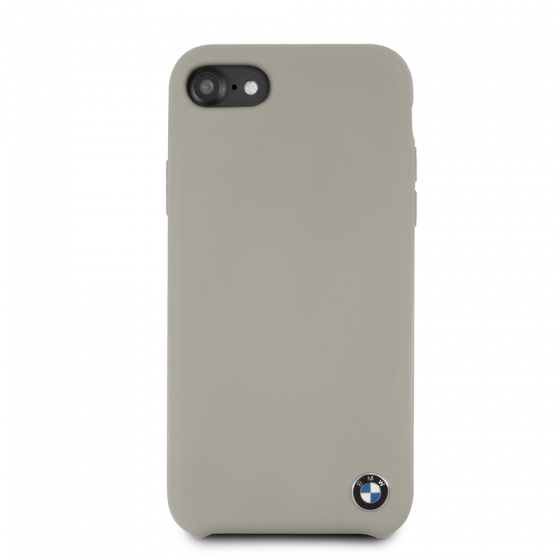 BMW iPhone 8 & iPhone 7 Taupe Silicone Hard Case