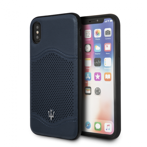 iPhone X and XS Maserati Genuine Leather Case Granlusso Tradition