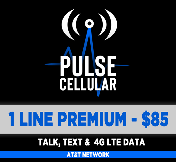 Premium Plan - Talk, Text & 22 GB High Speed LTE Data