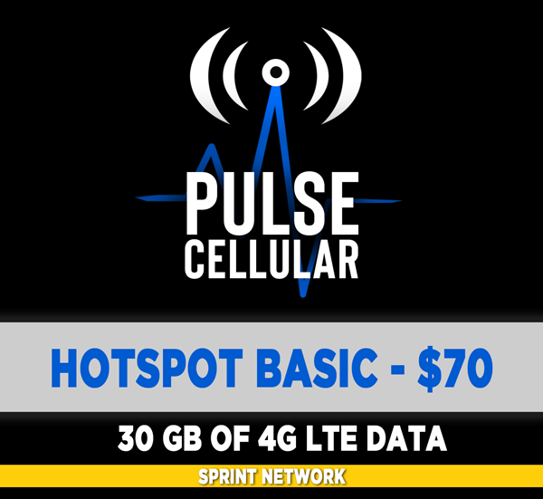 Basic Plan - Hotspot/Mobile Internet - 30 GB of High Speed LTE Data