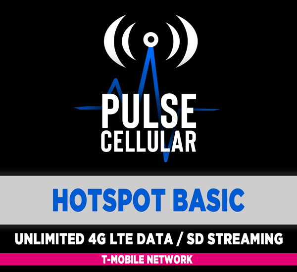 Basic Plan - Hotspot/Mobile Internet - Unlimited LTE Data with 150 GB of Priority