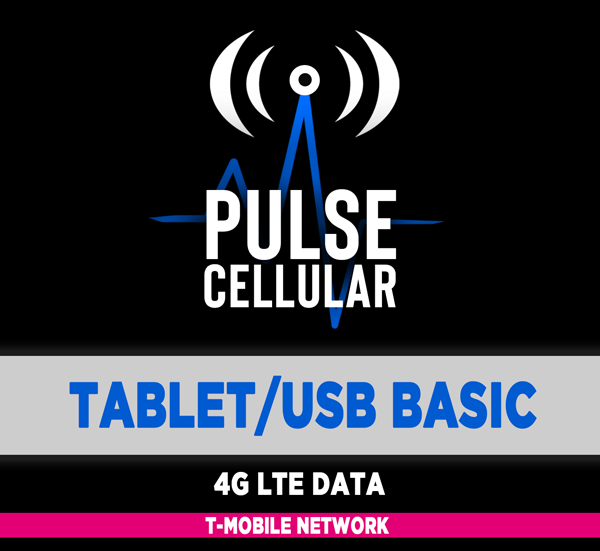 Basic Plan - Tablet/USB Modem Unlimited LTE Data
