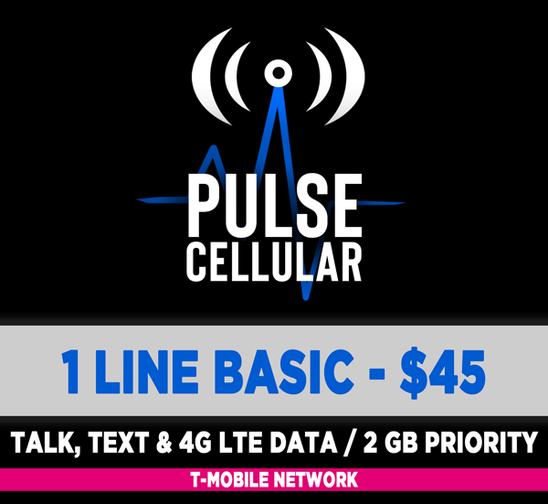Basic Plan - Unlimited Talk, Text & High Speed LTE Data - 2 GB Priority
