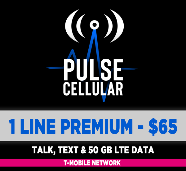 Premium Plan - Unlimited Talk, Text & 50 GB High Speed LTE Data