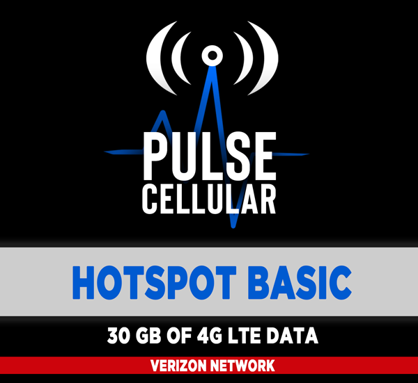 Hotspot Basic - 30 GB of High Speed LTE Data