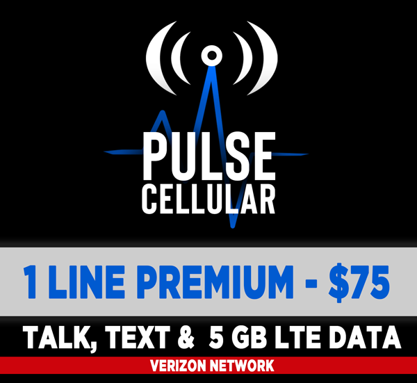 Premium Plan - Unlimited Talk, Text & 5 GB of High Speed LTE Data