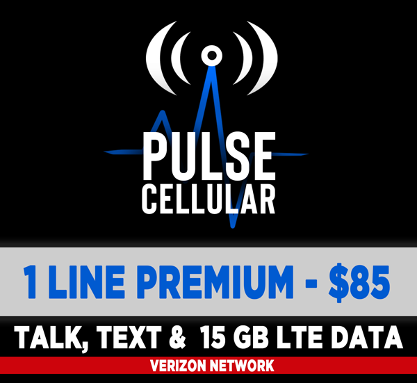 Premium Plan - Unlimited Talk, Text & 15 GB of High Speed LTE Data