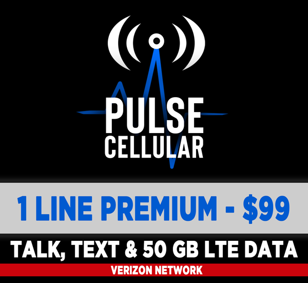 Premium Plan - Unlimited Talk, Text & 50 GB of High Speed LTE Data