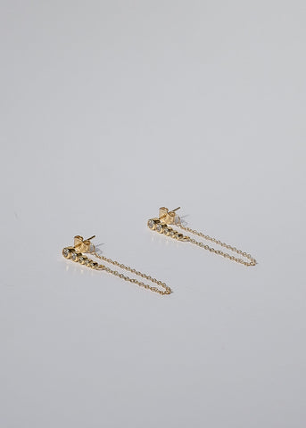 Chain Ear Cuffs in Gold