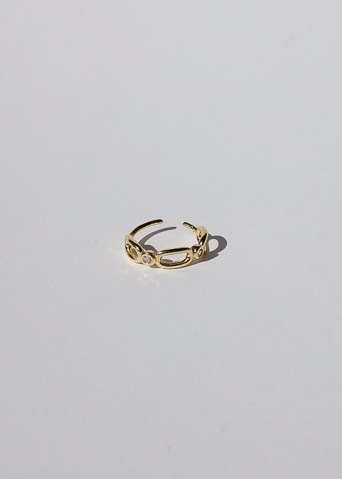Chain Ear Cuff in Gold