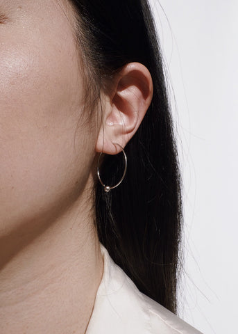 Bezle Bar Chain Earrings in Gold