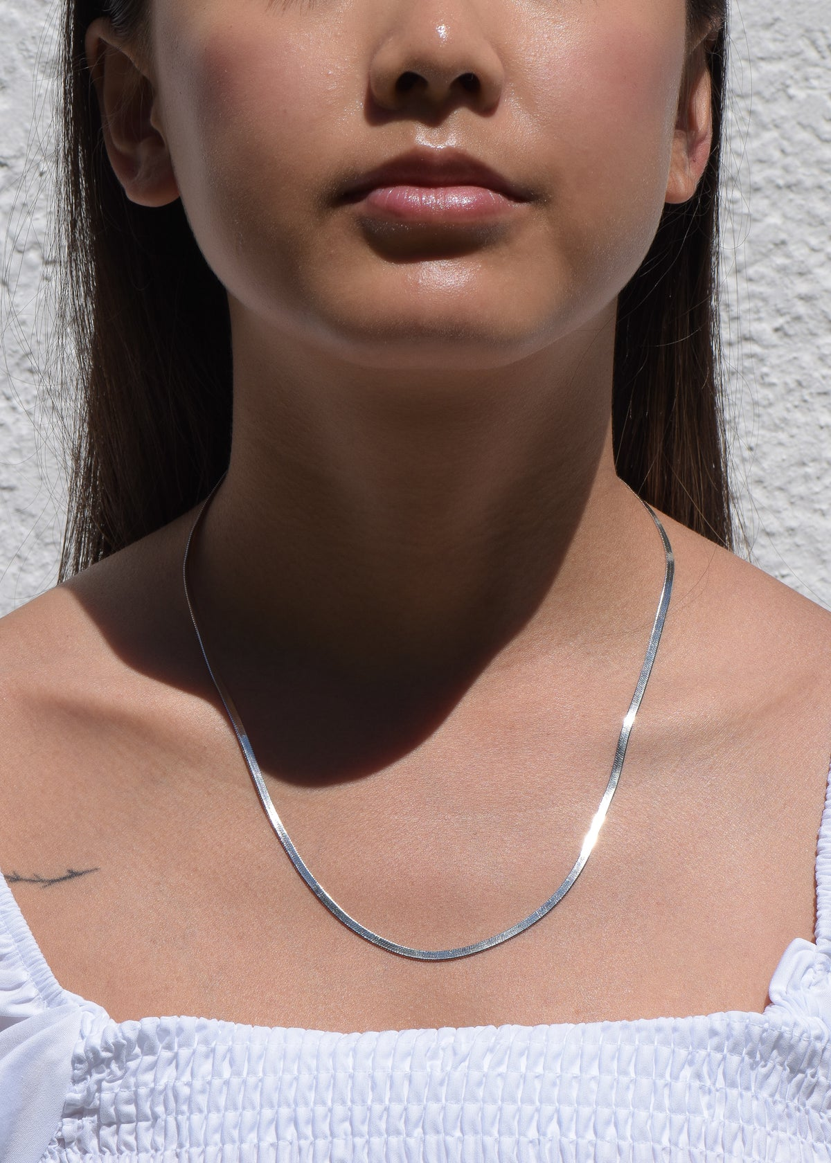 Arianne Chain Necklace in Silver