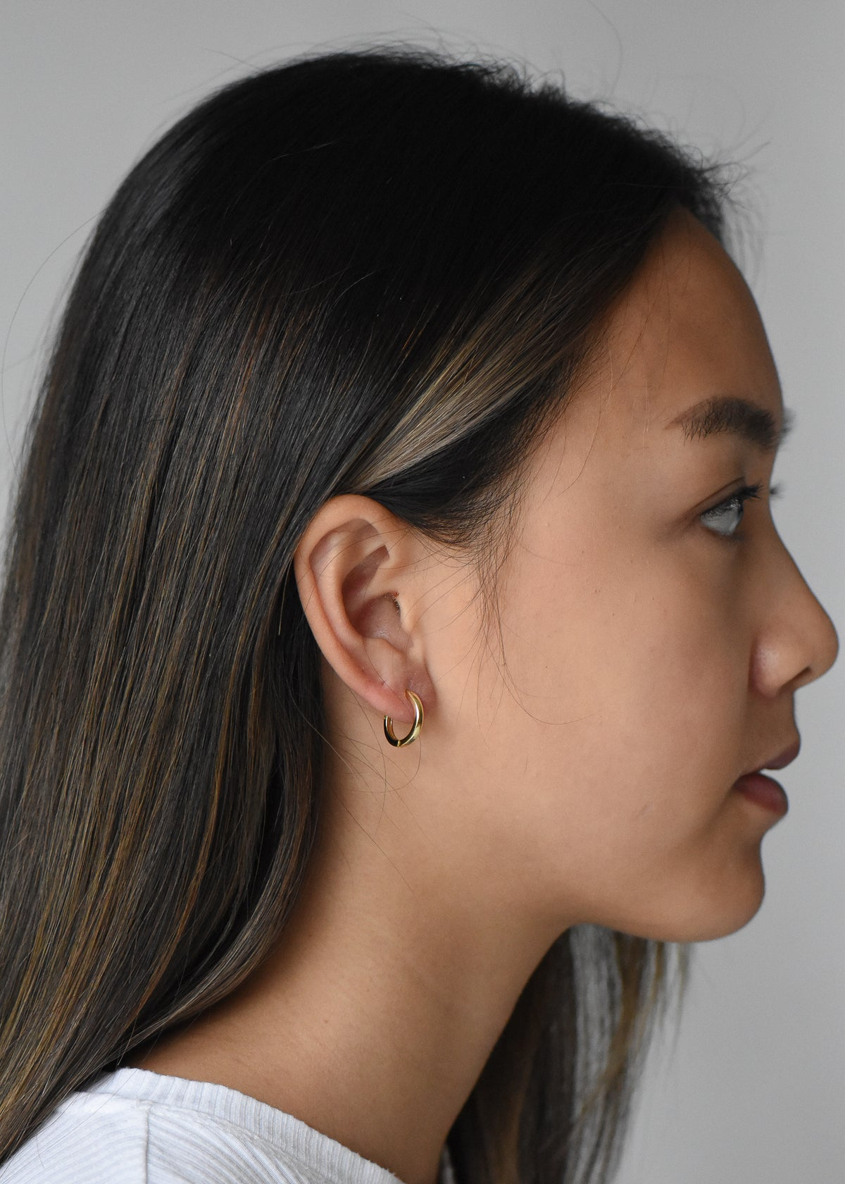 Baby Janelle Hoops in Gold