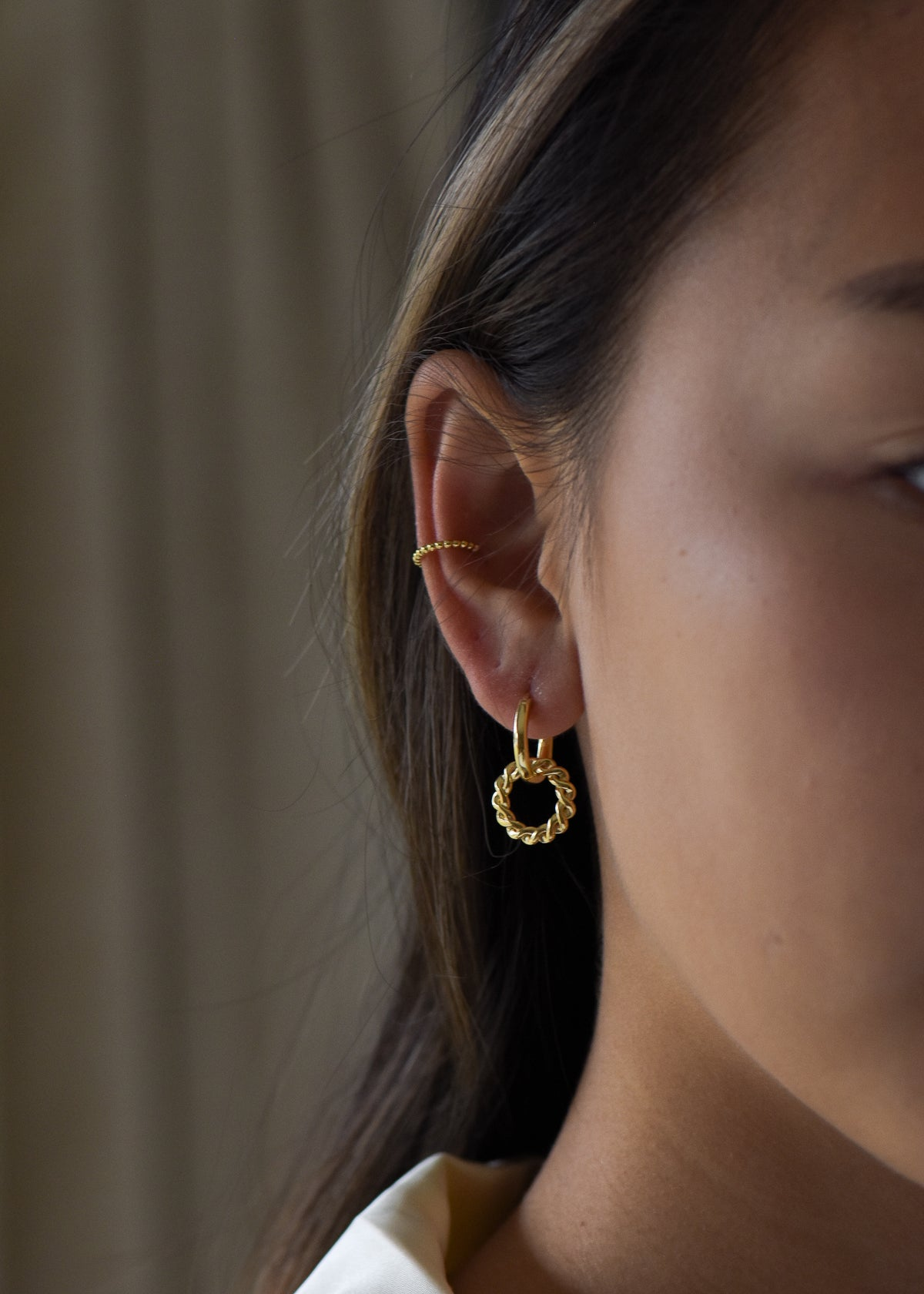 Imani Ear Cuff in Gold