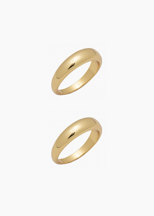 Ring Stack I - Gold