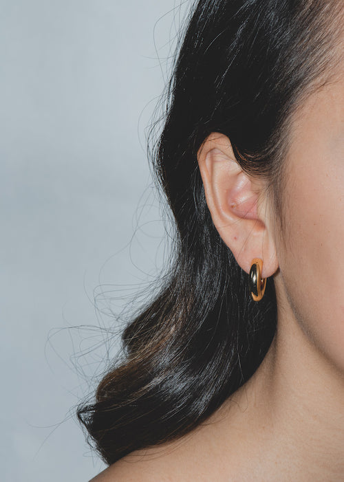 Baby Celine Hoops in Gold