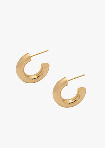 Celine Hoops in Gold