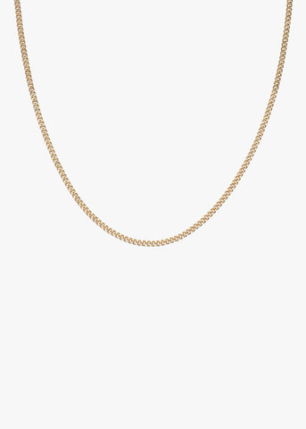 Bead Choker Necklace in Gold