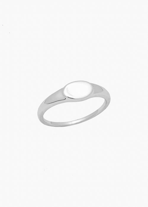 Small Signet Ring in Silver
