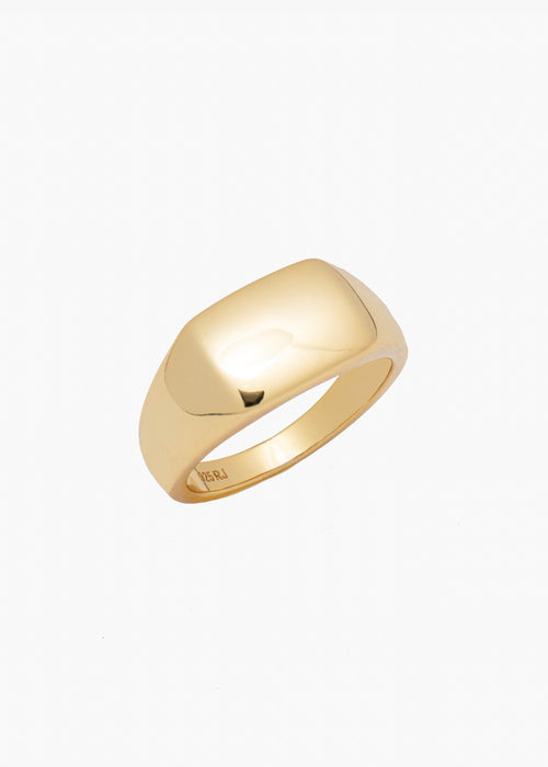 Square Signet Ring in Gold