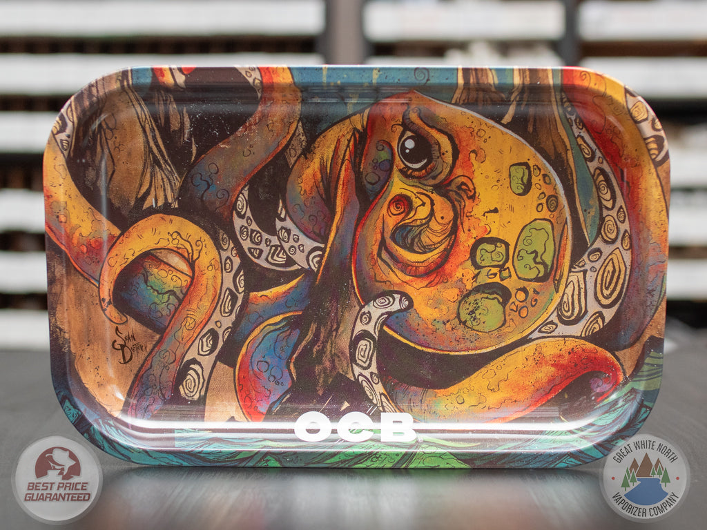 Octopus Metal Rolling Tray