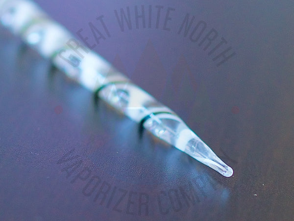 Twisted Glass Dabber - Great White North Vaporizer Co. | www.vapenorth.ca