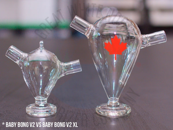 Baby Bong V2 XL For DynaVap - Great White North Vaporizer Co. | www.vapenorth.ca