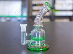 The Fun Guy - Honeycomb Percolator - 14mm Female Joint - Great White North Vaporizer Co. | www.vapenorth.ca