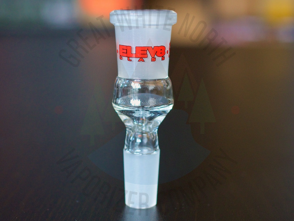 ELEV8R 14mm Water Pipe Adapter - Great White North Vaporizer Co. | www.vapenorth.ca