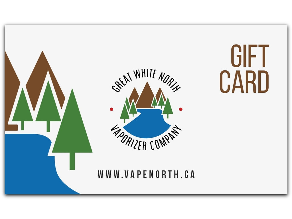 Great White North VC Gift Card - Great White North Vaporizer Co. | www.vapenorth.ca