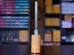 E-Nano Long Glass Stem - Great White North Vaporizer Co. | www.vapenorth.ca