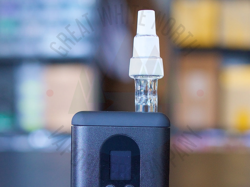 Arizer Go (ArGo) 3-In-1 Water Pipe Adapter - Great White North Vaporizer Co. | www.vapenorth.ca