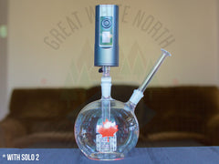 Arizer Air 2/Solo 2 : 3-in-1 Glass Adapter - Great White North Vaporizer Co. | www.vapenorth.ca