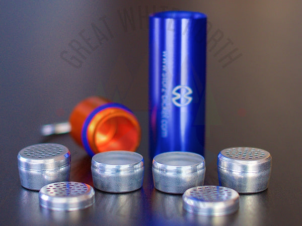 Storz & Bickel Capsule Caddy Keychain - Great White North Vaporizer Co. | www.vapenorth.ca