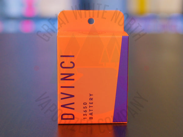 DaVinci MIQRO 13650 Battery - Great White North Vaporizer Co. | www.vapenorth.ca