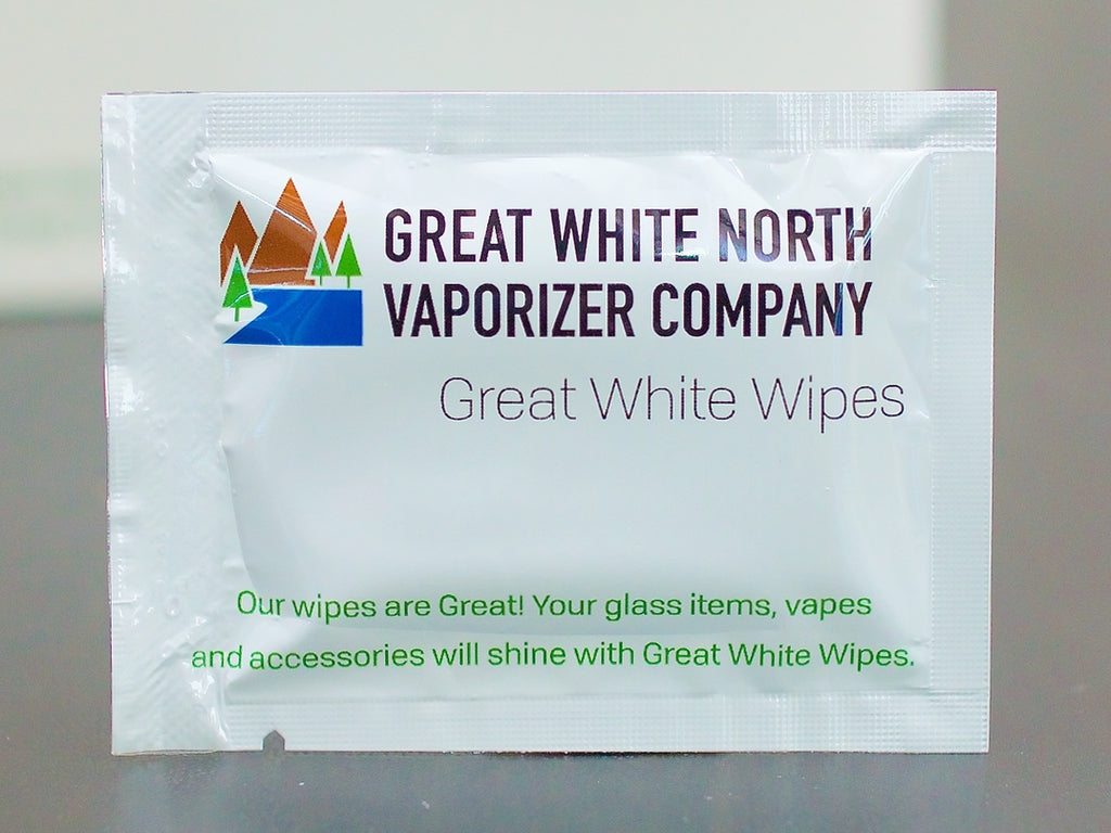 Great White Alcohol Cleaning Wipes