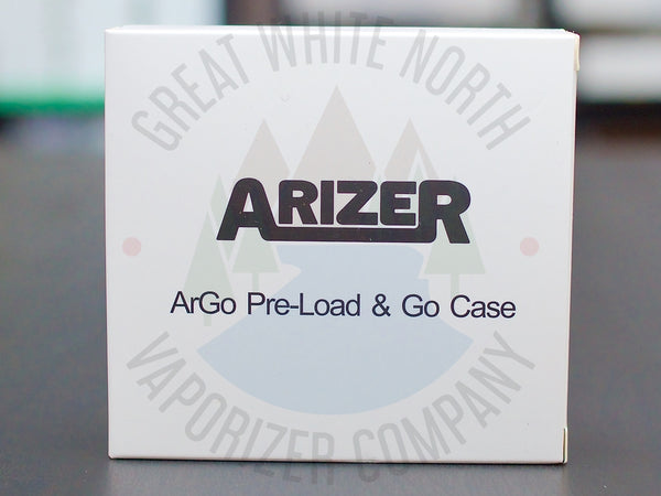 Arizer Go (ArGo) Pre-Load & Go Case with Stems