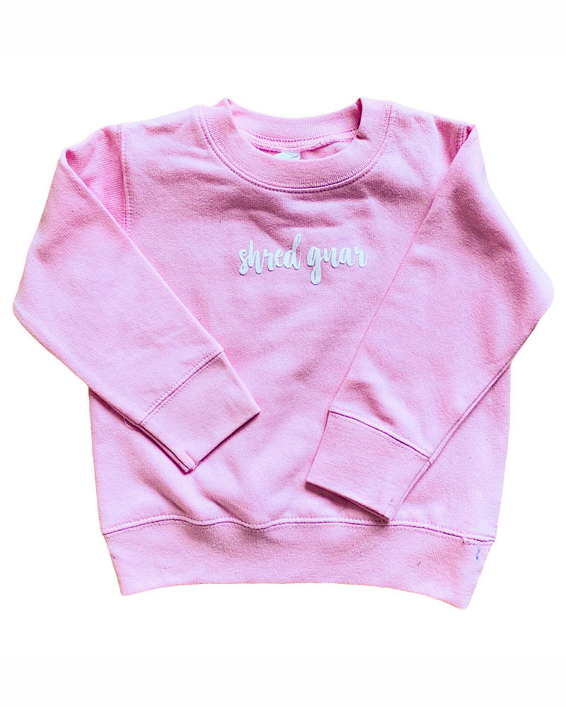 Shred Gnar! Toddler fleece sweatshirt