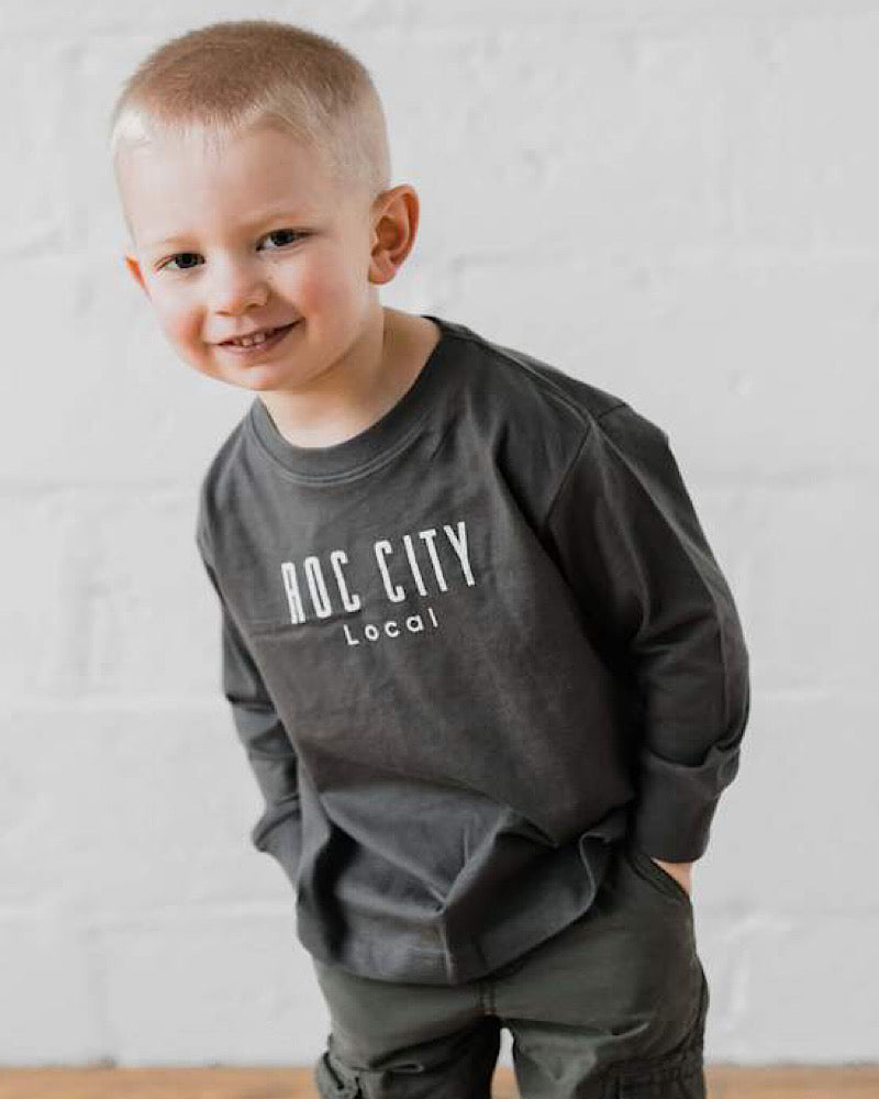 Local Rochester toddler & infant longsleeve tees