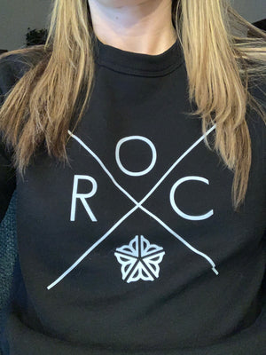 Roc Fleece Hoodie (new with city logo)