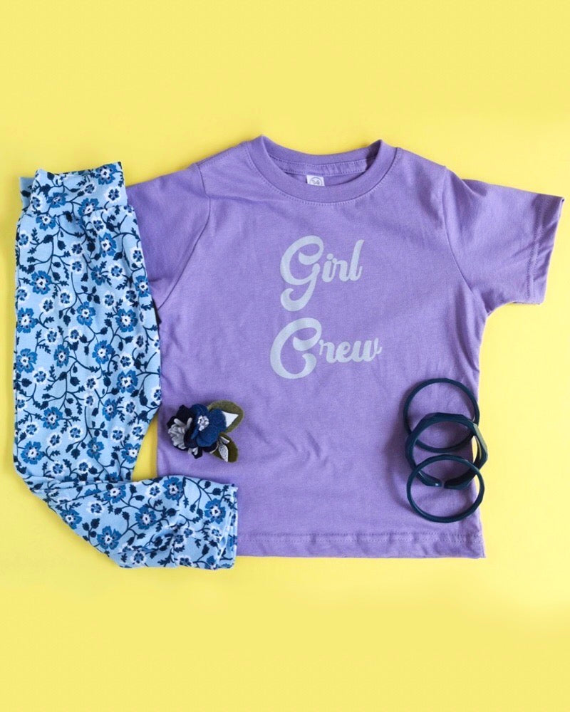 Girl Crew Tee & Infant Onesies