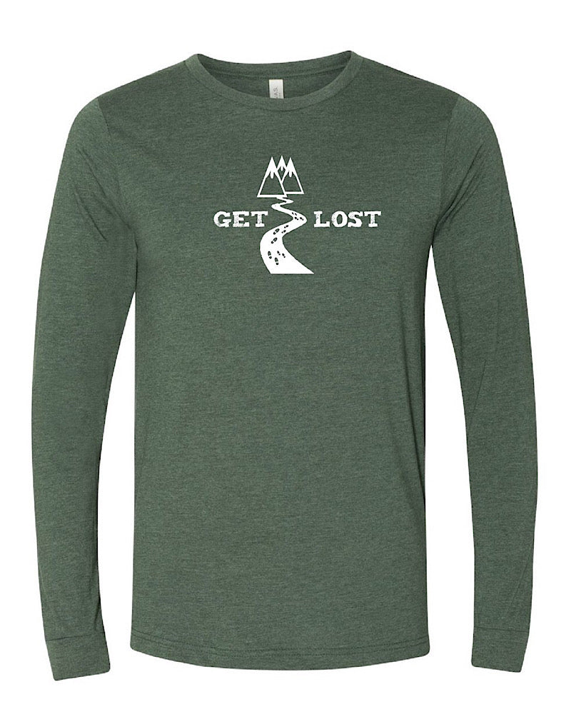 GET LOST! Adult Long Sleeve Tee