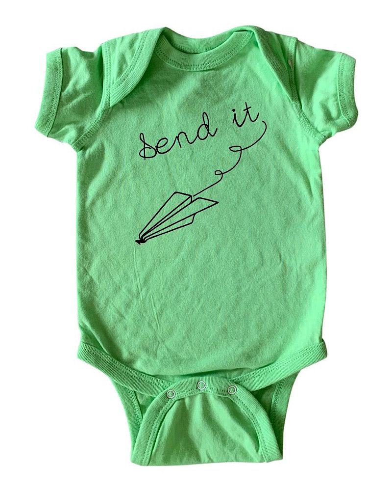 SEND IT! Infant onesie
