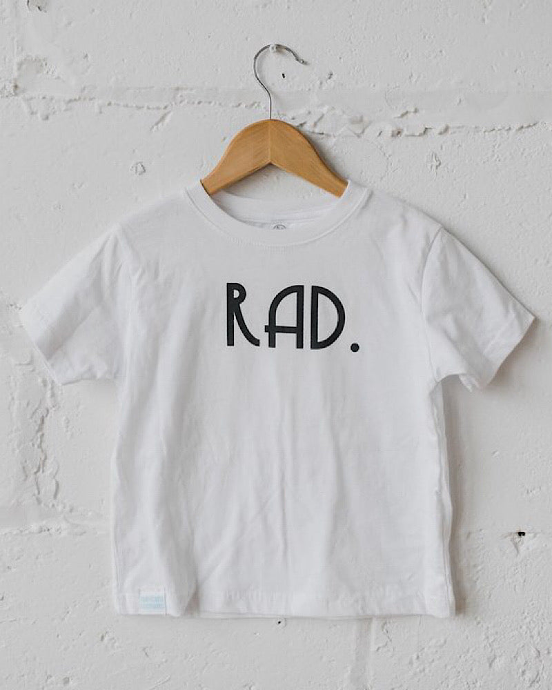 RAD. Toddler tee & long sleeve tee