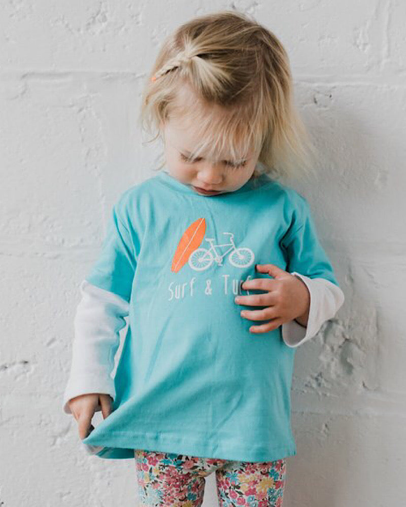 Surf & Turf Toddler Tee