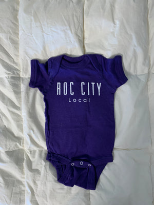 Roc City Local infant & toddler short sleeve tees