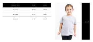 Coastal Grooves Organic Cotton Toddler Tshirt