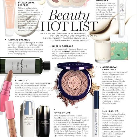 m2 woman magazine, revitalash, must have beauty items, holy grail