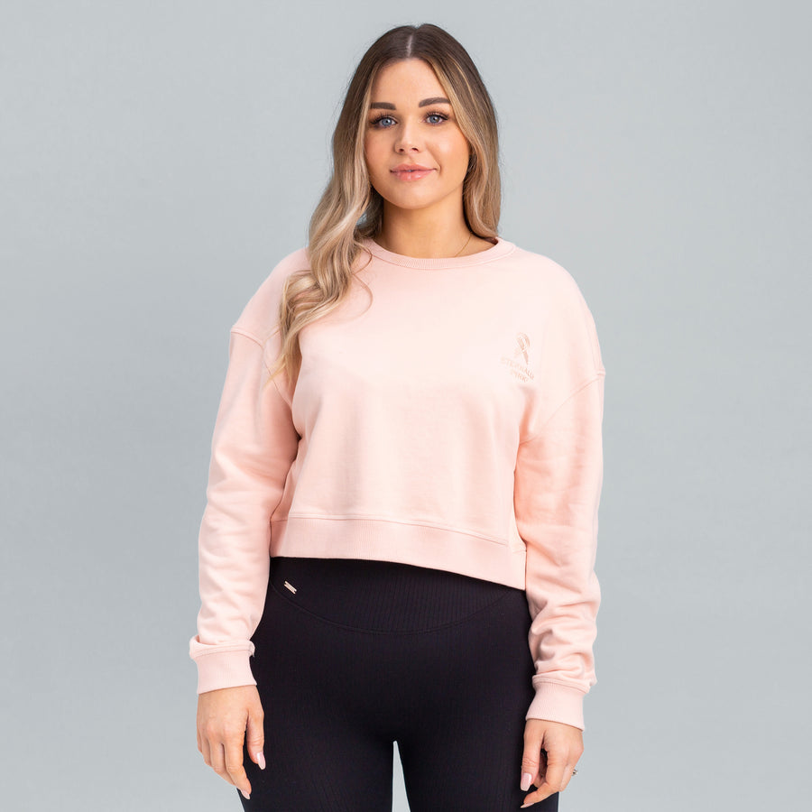 Eternally Pink Cropped Jumper - Limited Edition